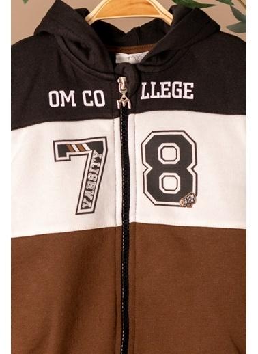 Zeyland Kapüşonlu Fermuarlı Sweatshirt ve Jogger Eşofman Altı Takım (12ay-4yaş) Kapüşonlu Fermuarlı Sweatshirt ve Jogger Eşofman Altı Takım (12ay-4yaş) Kahve